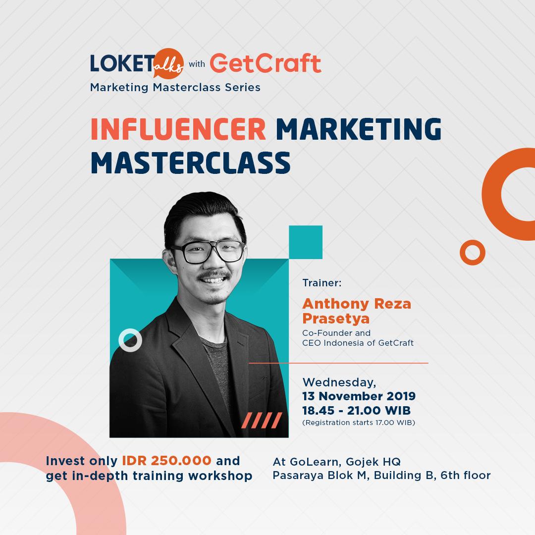 [Upcoming Training] Influencer Marketing Masterclass